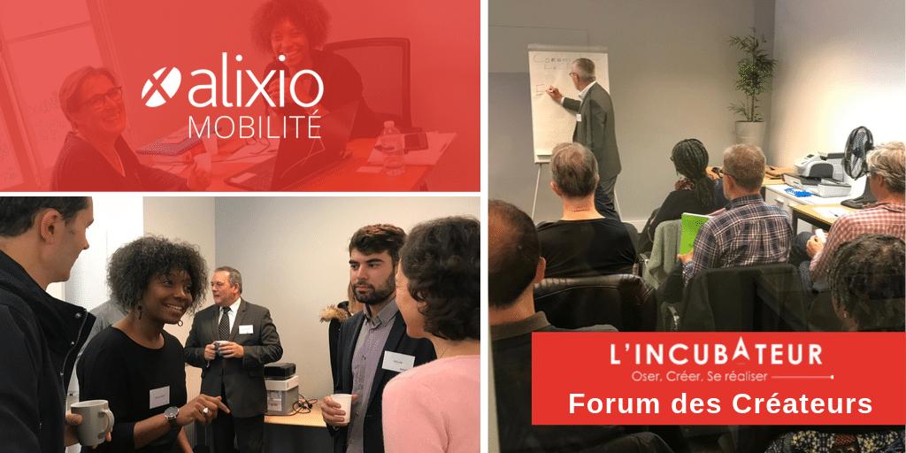 [Evénement] L'Incubateur Alixio Mobilité : Forum des Créateurs