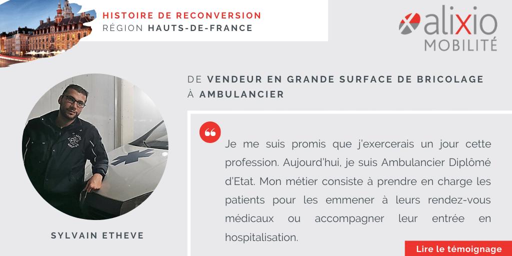 """Témoignage dans la région Hauts-de-France : """"Je me suis promis que j'exercerais un jour cette profession"""""""