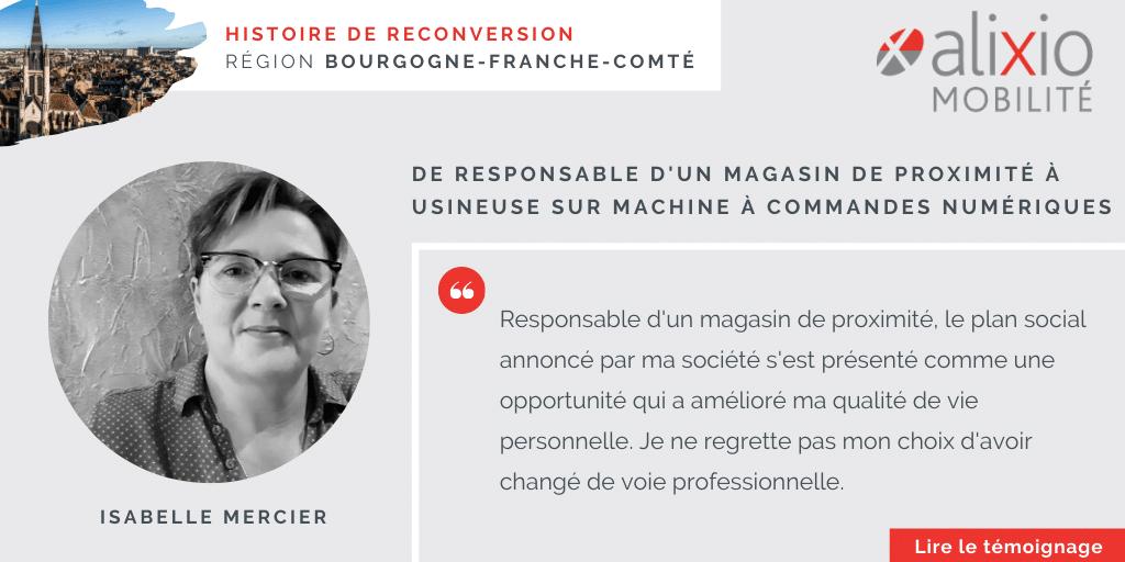 Témoignage en Bourgogne-Franche-Comté : «Je ne regrette pas mon choix d'avoir changé de voie professionnelle»