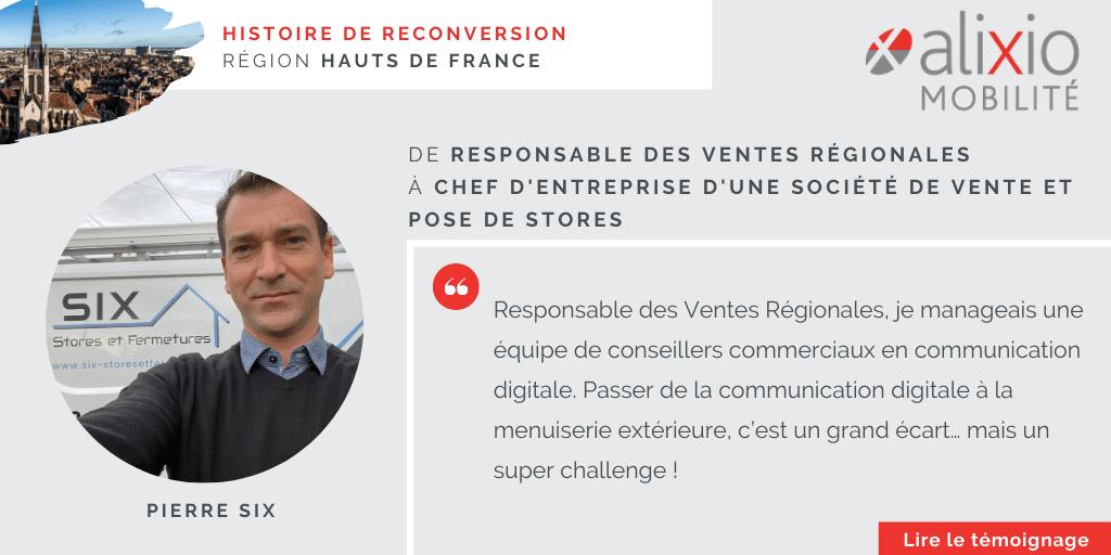 Témoignage en région Hauts de France : De la communication digitale à la menuiserie extérieure, un vrai challenge.