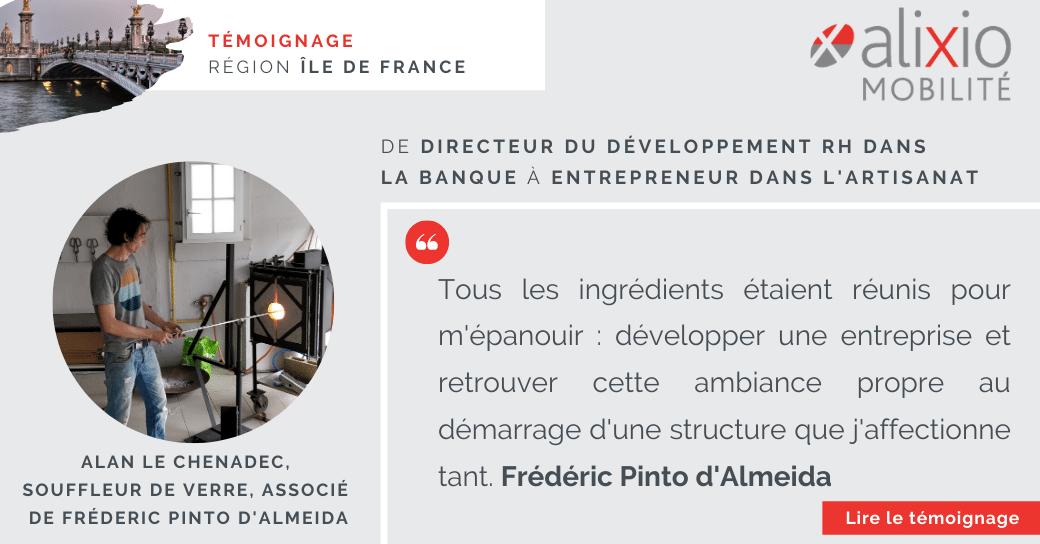Témoignage dans la région Île-de-France : «Entreprendre dans le milieu artisanal»