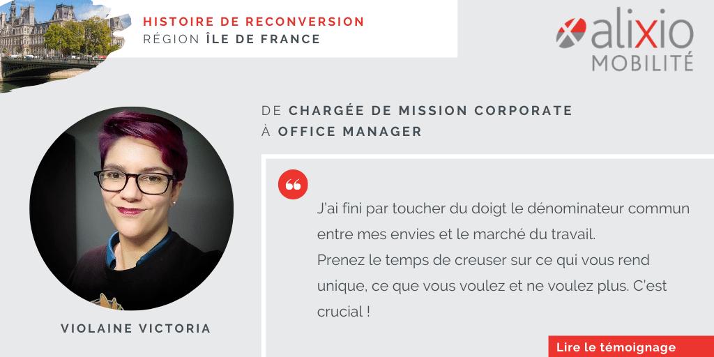 Témoignage en Île-de-France : «Ma consultante m'a poussée à me réaliser»