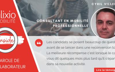 """Témoignage de Cyril Villerot, professionnel de l'accompagnement collaborateur """"à nous de nous adapter pour les accompagner vers la réussite"""""""