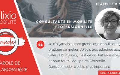 Témoignage d'Isabelle Rival, consultante en mobilité après une reconversion professionnelle