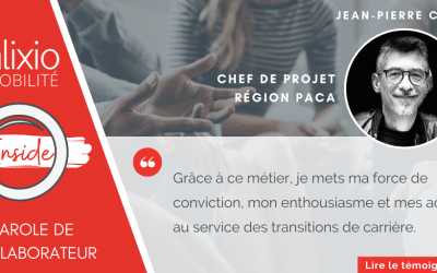 Témoignage de Jean-Pierre Calès, chef de projet Alixio Mobilité PACA