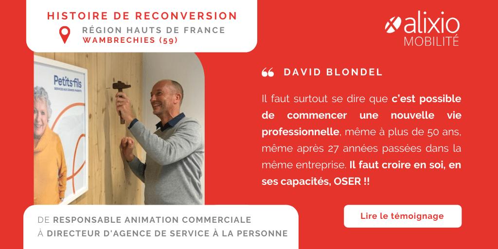 Vivre un PDV : le témoignage de David, devenu Directeur d'agence dans les Services à la personne