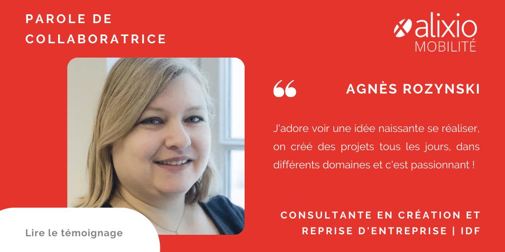 Portrait de collaboratrice : Agnès Rozynski, consultante senior création d' entreprise