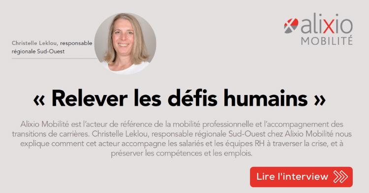 Interview de Christelle Leklou par l'ANDRH : Relever les défis humains