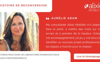 Changement de carrière : Aurélie, de formatrice à coach professionnelle